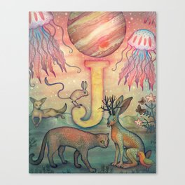 'J' is for... Canvas Print