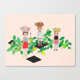 Cat Nip Canvas Print