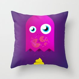 Game Over Pac. Throw Pillow