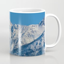 Fresh snow in September in Jasper National Park Coffee Mug