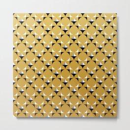 Mod Gold Metal Print