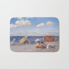 At the Seaside, William Merritt Chase 1892 Bath Mat