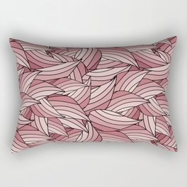 PALE DOGWOOD LEAVES B (abstract flowers nature) Rectangular Pillow