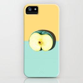 Tropical Fruit. Apple Half Slice iPhone Case