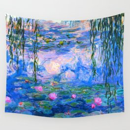 Water Lilies Claude Monet Restored Wall Tapestry
