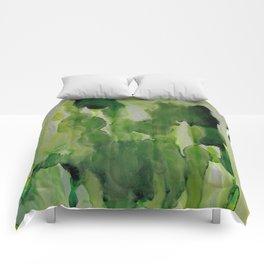 Green Envy Comforters
