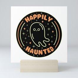 Happily Haunted Mini Art Print