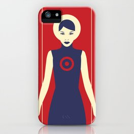 Isolde Red iPhone Case