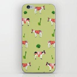 donkeys and cactuses iPhone Skin
