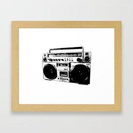 UrbanVector | Ghetto Blaster Framed Art Print