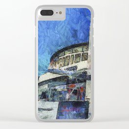 Besiktas Stadium Art Clear iPhone Case