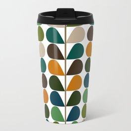 Retro Mid Century Modern Pattern 2 Travel Mug