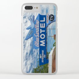 Vintage Americana Clear iPhone Case
