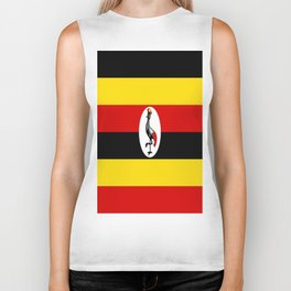 Flag of Ugandan Biker Tank
