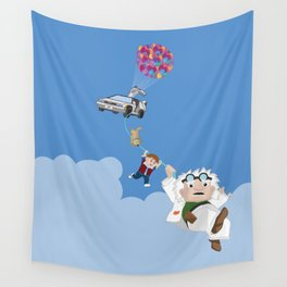 Up to the future Wall Tapestry