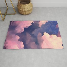Cloudy Sky Painting Rug