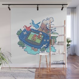 Pocket Monster V3 - The Legend Lives Wall Mural
