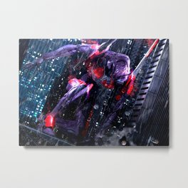 Evangelion NERV Eva 01 Metal Print