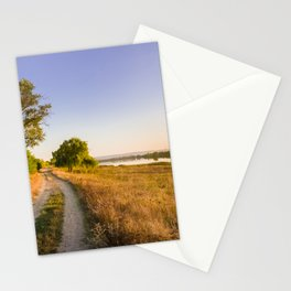 Scenic countryside landscape Stationery Cards