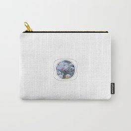 Subtly Flourishing - Circle Carry-All Pouch