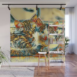 AnimalArt_Cat_20170912_by_JAMColorsSpecial Wall Mural