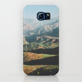 Layers of the Atlas Mountains, Africa iPhone Case
