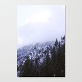 Icy Highway 2 Canvas Print