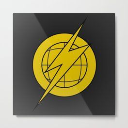 Defenders of the Earth Lothar Emblem Metal Print