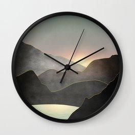Minimal Landscape 03 Wall Clock