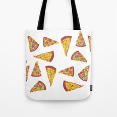 Pizza Pattern Tote Bag