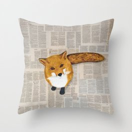 Curiosity Throw Pillow