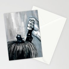 Carve It To Death Stationery Cards