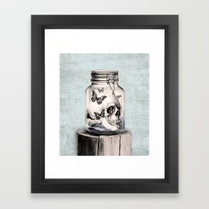 Lost thoughts Framed Art Print