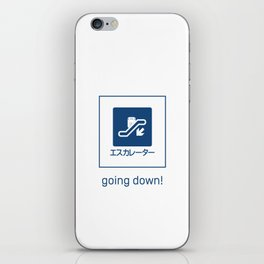 Going Down! iPhone Skin