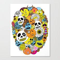 Halloween Print Canvas Print