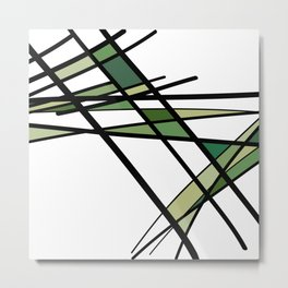 Urban Abstract I Metal Print