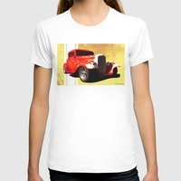 ford T-shirts featuring Flames Ford by D. H. Carter