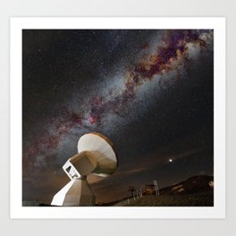 Contact! Search for ExtraTerrestrial Intelligence in the Stars! Art Print