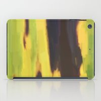 banana leaf iPad Cases featuring Burnt Banana Leaf by Robert Morris