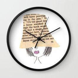 Fashionista Wall Clock