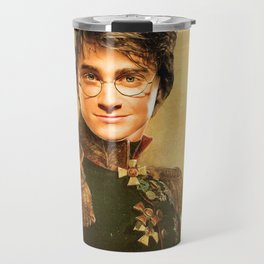 Harry General Portrait Painting | Fan Art Travel Mug