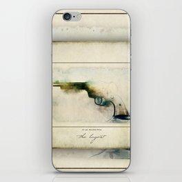 The LaGest 22 cal Double Nine Gun iPhone Skin