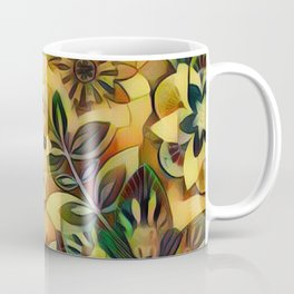 A Floral Dance Coffee Mug