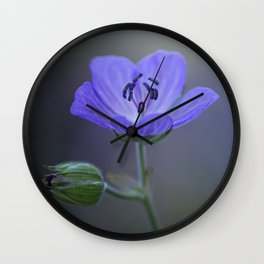 Purple Peace... Wall Clock