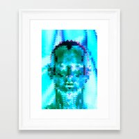 muscle Framed Art Prints featuring Muscle Man by Donovan Justice