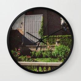Elizabeth Street Garden Wall Clock