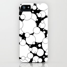Black and White Pop 2 iPhone Case