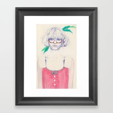 More Green Framed Art Print