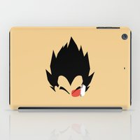 vegeta iPad Cases featuring Saiyan Prince (Vegeta) by Timmy D. Matias