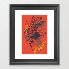 raven2 Framed Art Print